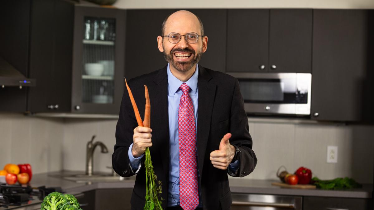 Dr. Greger carrot